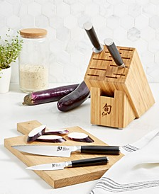 Classic 5-Pc. Knife Block Set, Created for Macy's