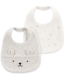 Carter's Baby Boys or Girls 2-Pk. Bibs