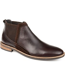 Thomas & Vine Men's Beckham Genuine Leather Chelsea Ankle Boot
