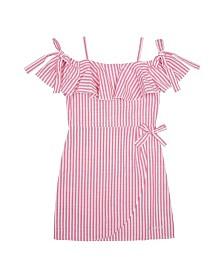Bebe Girls Faux Wrap Dress