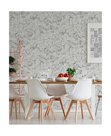 "Notting Hill Marble Wallpaper - 396"" x 20.5"" x 0.025"""
