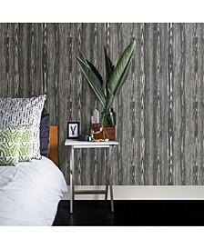 """Illusion Faux Wood Wallpaper - 396"""" x 20.5"""" x 0.025"""""""
