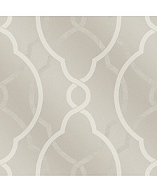 "Sausalito Lattice Wallpaper - 396"" x 20.5"" x 0.025"""