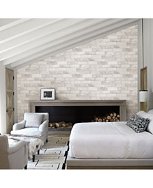 "Brewster Home Fashions Reclaimed Bricks Wallpaper - 396"" x 20.5"" x 0.025"""