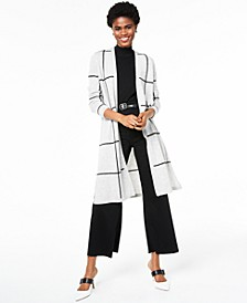 100% Cashmere Duster Cardigan, Created for Macy's