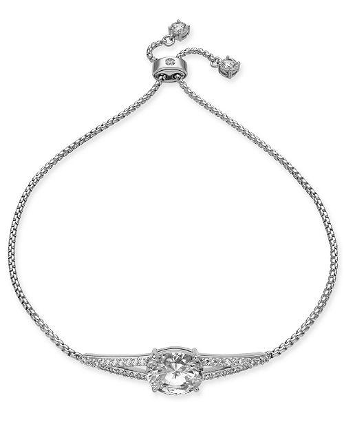 Eliot Danori Cubic Zirconia Bolo Bracelet, Created for Macy's