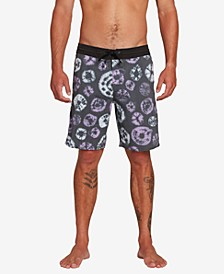 "Men's Dot Dye Stoney 19"" Board Shorts"