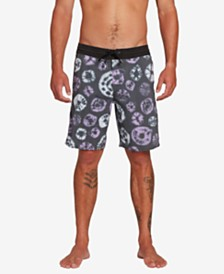 "Volcom Men's Dot Dye Stoney 19"" Board Shorts"
