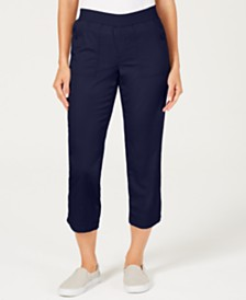 Style & Co Pull-On Utility Capris, Created for Macy's