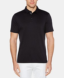 Men's Regular-Fit Textured Ultra Soft Touch Polo
