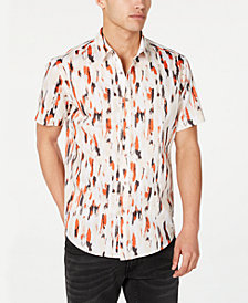 INC Men's Carson Watercolor Shirt, Created for Macy's