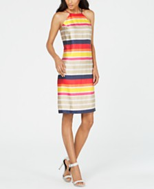 Trina Turk Striped Shift Dress