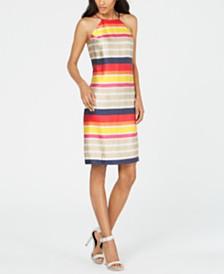Trina Turk Striped Shift Dress