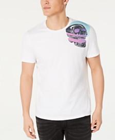 Just Cavalli Men's Shoulder Skull Graphic T-Shirt