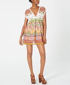 Raga Ruhi Cotton Printed Babydoll Dress