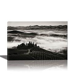 Eurographics Tuscany Framed Canvas Wall Art
