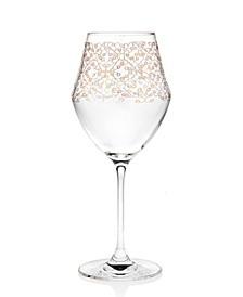 Ceska Allegra Gold Red Wine Glass - Set of 4