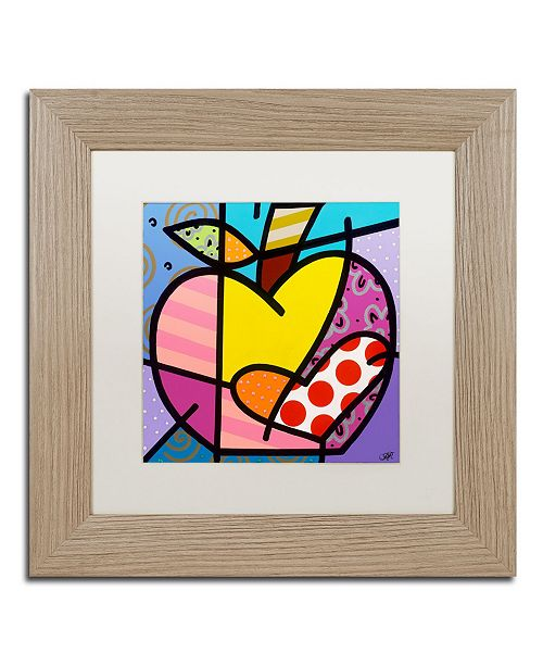 "Trademark Global Roberto Rafael 'Big Apple IV' Matted Framed Art - 11"" x 11"""