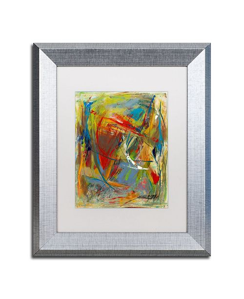 "Trademark Global Shana Doumingez 'Toy of a Cosmic Child' Matted Framed Art - 11"" x 14"""
