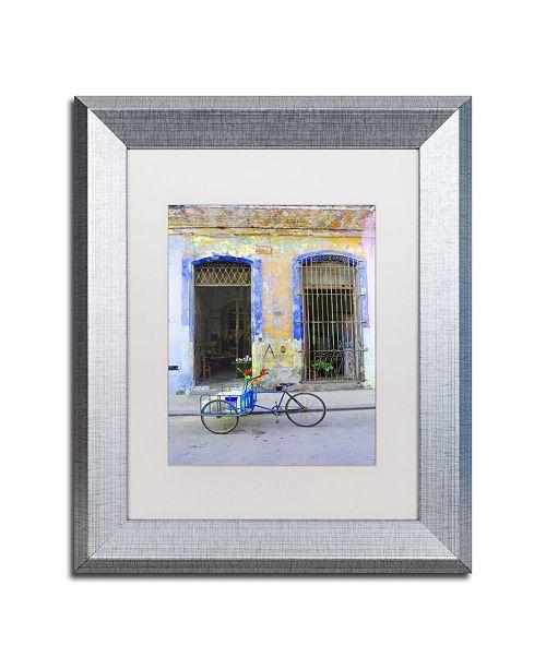"Trademark Global Masters Fine Art 'Havana Apartment No 203' Matted Framed Art - 11"" x 14"""