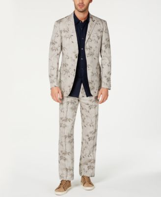 Men's 100% Linen 2-Button Blazer, Created for Macy's