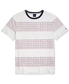 Tommy Hilfiger Adaptive Men's  Slander T-Shirt with Magnetic Closures