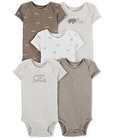 Baby Boys & Girls 5-Pk. Bodysuits