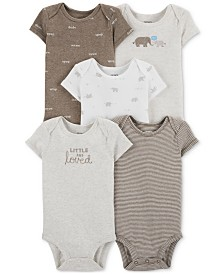 Carter's Baby Boys & Girls 5-Pk. Bodysuits