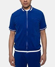 Men's Full-Zip Terry Track Jacket