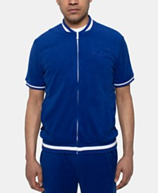 Sean John Men's Full-Zip Terry Track Jacket