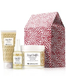 Receive a Free 3pc Ginger Gift with any $85 Origins purchase (A $31 Value!)