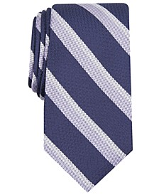 Men's Stripe Silk Tie, Created for Macy's