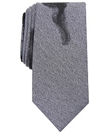 I.N.C. Men's Smokey Skull Graphic Tie, Created for Macy's