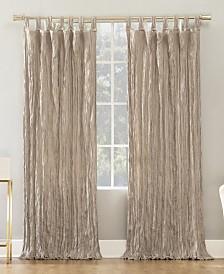 "Suite 918 Odelia Distressed Velvet Tab Top Curtain Panel, 50"" W x 63"" L"