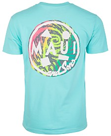 Maui and Sons Men's Pump It Up Graphic T-Shirt