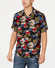 Men's Camo Rain Shirt, Created for Macy's