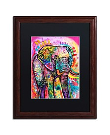 Dean Russo 'Elephant' Matted Framed Art