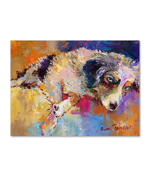 "Trademark Global Richard Wallich 'Marley' Canvas Art - 14"" x 19"""