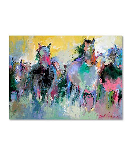 "Trademark Global Richard Wallich 'Art Wild 2' Canvas Art - 14"" x 19"""