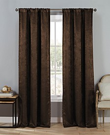 "Steena 30"" x 84"" Velvet Blackout Curtain Set"
