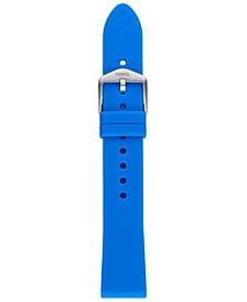Unisex Sport Ocean Blue Silicone Smart Watch Strap