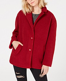 Juniors' Faux-Fur Coat, Created for Macy's