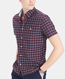 Tommy Hilfiger Men's Slim Fit Landon Checked Shirt
