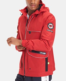 Tommy Hilfiger Men's Graphic Windbreaker, Created for Macy's