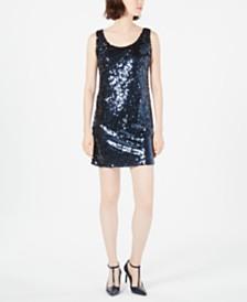 Calvin Klein Sequined Tank Dress