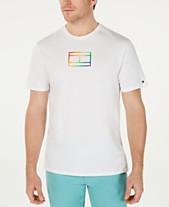 3878d219 Tommy Hilfiger Men's Pride Logo Graphic T-Shirt