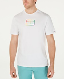 Tommy Hilfiger Men's Pride Logo Graphic T-Shirt