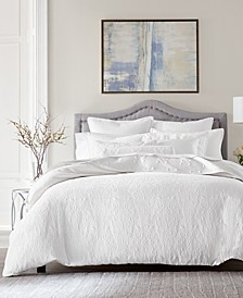Classic White Matelasse Bedding Collection, Created for Macy's