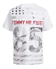 Toddler Boys Statue Of Liberty Star & Stripe Logo T-Shirt