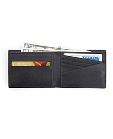 RFID Blocking Slim Bifold Wallet